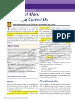 Workshop-Scrotal Mass-Ensuring a Correct Dx