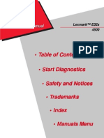 Lexmark-e 321 Service Manual