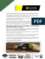 Previo Baja Almanzora 2012 Team Promyges Rockstar