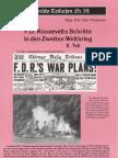 Historische Tatsachen - Nr. 58 - Udo Walendy - F. D. Roosevelts Schritte in Den Zweiten Weltkrieg - 2. Teil (1993, 40 S., Scan)