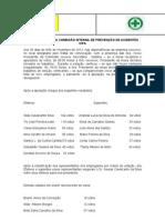 Ata de Eleição dos Membros da CIPA.doc