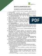 Caderno a Exameclassificacao 2012 Final