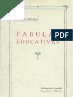 Fabulas Educativas Libro Primero 0