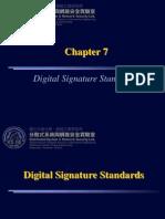 07-Digital Signature Standards