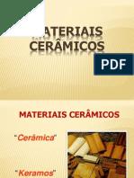 OS MATERIAIS CERÂMICOS NA CONSTRUÇÃO CIVIL