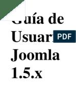 Guía de Usuario Joomla 1
