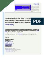 2009 Uiir Wrkshp Proceedings