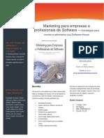 Livro - Marketing Para Empresas e Pro Fission a Is de Software
