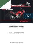 Manual Honda Cb 150 Invicta