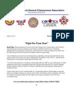 GCA Media Release April 24, 2012