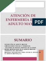 Adulto Mayor Atributos