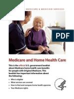 Medicare Home Health Booklet