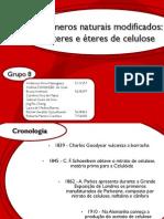 Polímeros naturais modificados