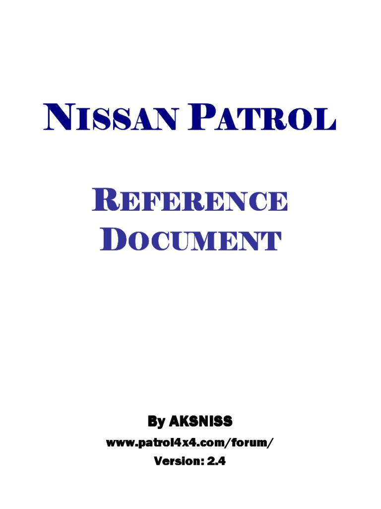 1512147018?v=1 nissan patrol zd30 y61 reference document colour turbocharger nissan patrol wiring diagram at virtualis.co