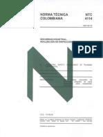 Norma NTC 4114 (Inspecciones)