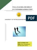 Fundamental Analysis and Impact of APDRP on Customer Satisfaction