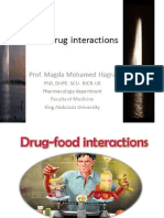 Food Drug Interactions Makkah Conference