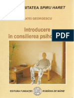 34141173 Psiho Georgescu Matei Introduce Re in Consilierea Psihologica