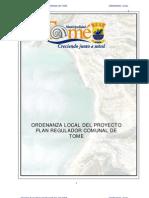 5d1 5. Ordenanza Local Tome 2006 PRC PDF
