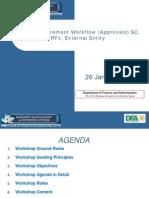 SRM BRF_10 Workflow