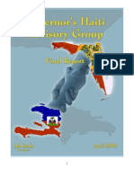 Haiti Advisory Group - Final Report