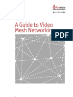A Guide to Video Mesh Networking