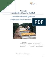 Buenas Prácticas Agrícolas Certificadas por el SAG