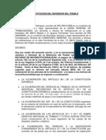 Recurso inconstitucionalidad DPueblo