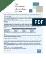 2012 Goldman Sachs Summer Accelerated Process Flyer