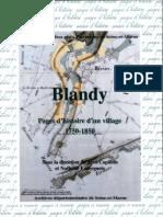 Pages d'Histoire Sur Blandy