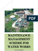 Maintenance Management Scheme for Water Works02