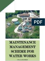 Maintenance Management Scheme for Water Works02