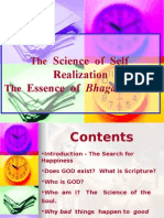 BG-Science of Self Realization - Part1