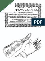 12715086 Intavolatura Della Chitarra Spagnola Tomaso Marchetti