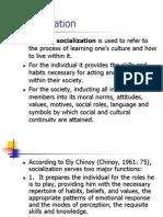5 Socialization