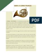 La Trompa o Corno Frances