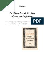 F. Engels Situación de la clase obrera - para imprimir