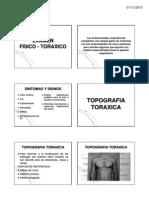 EXAMEN FISICO-TORAXICO