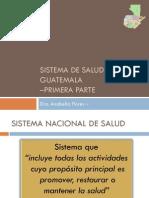 Sistema de Salud de Guatemala