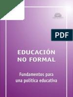 Hacia una re-elaboracion del sentido de la educacion- Nuñez.V
