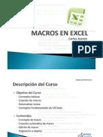Manual de Macros en Excel