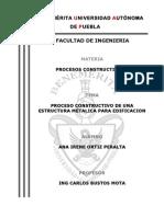 Proceso constructivo de un edificio de concreto armado