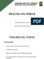 Trauma en Torax Clase