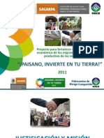 Presentacion_PAISANO para difusi+¦n