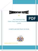 Climate Law and Policy Dr Francesco Sindico