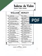 IMSLP91001-PMLP186949-Henley.W - Ecole Moderne Du Violon Modern Violin School Op51 Bk 4 Elementary Double Stopping and Chords