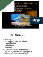 Nueva Vision de Los Recursos Hidricos en Elperu