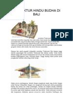 Arsitektur Hindu Budha Di Bali