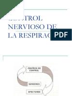 Control Nervioso de La Respiracion