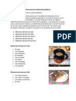Alimentación tradicional de mexico